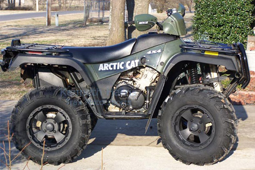 Download Arctic Cat 250-500 Atv repair manual